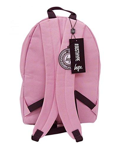 Hype hellrosa Orden Rucksack Tasche - ideal Schule Taschen - Rucksack für Jungen und Mädchen