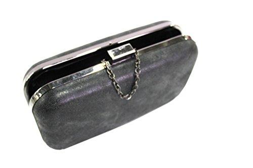 Borsetta donna l.elegante HD217 nero moda italiana