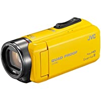JVC video camera Everio R built-in memory 32GB GZ-R400-Y (yellow)