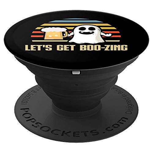 Halloween Let's Get Boozing Beer Costume - PopSockets Grip and Stand for Phones and Tablets -