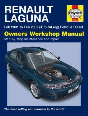 haynes workshop manual for renault laguna petrol diesel feb 01 rh amazon co uk laguna 3 service manual renault laguna iii service manual