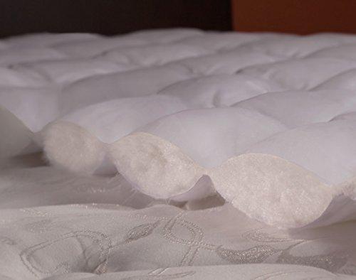 Amazon.com: eLuxurySupply Cobertor Acolchonado y Ajustable para Tu Colchn | Hipoalergnico | ES Reconocido Por Su USO en las Camas de la Cadena de Hoteles ...
