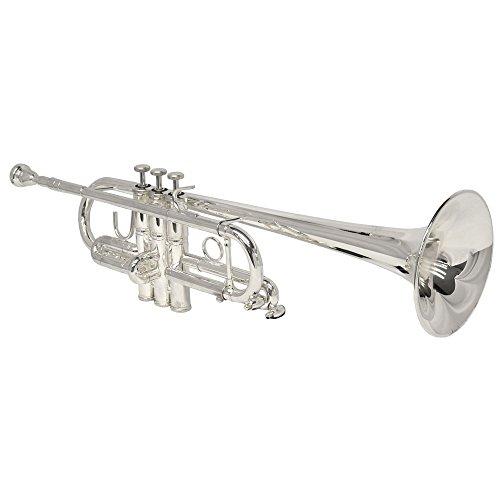 Schiller Elite C Trumpet - Silver by Schiller