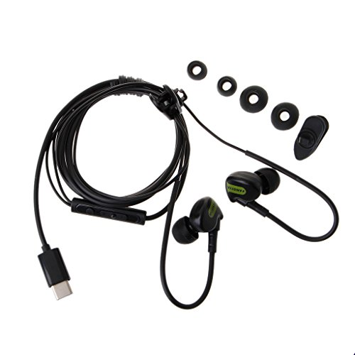 JUA PORROR In-Ear Type C Earphone -Bass Ear Hook H...