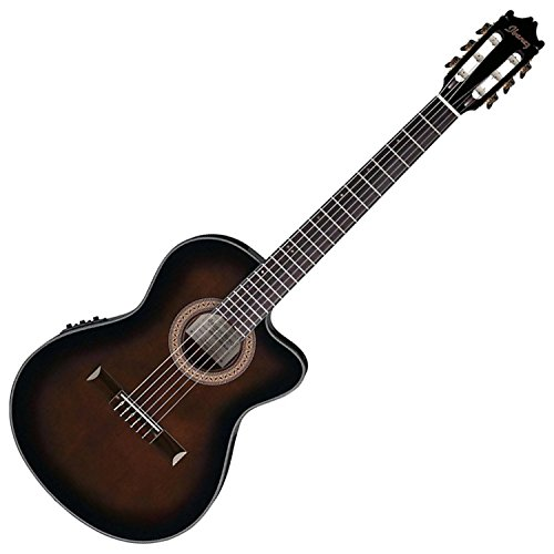Ibanez GA35TCEDVS Acoustic/Electric Guitar - Dark Violin Burst (Ibanez Nylon Cutaway Guitar)