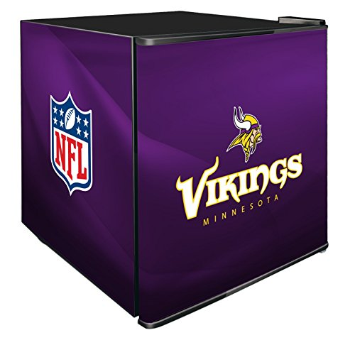 NFL Minnesota Vikings Refrigerated Counter Top Cooler, Small, Purple by SG Merchandising Solution