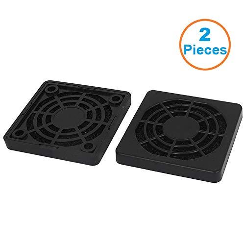 | Fans & Cooling | 2pcs/lot 5CM Computer Guard Black Plastic Dustproof Dust Filterable 50mm PC Case Fan Cooler Filter Cover,55x55x7mm | by HERIUS