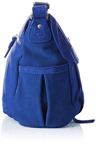 Bleu Topaze Bernie Sac Mila Louise bandoulière Croute Xq186