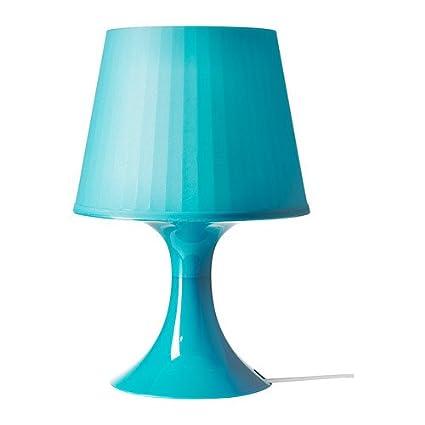 IKEA LAMPAN - Lámpara de mesa, turquesa: Amazon.es: Hogar