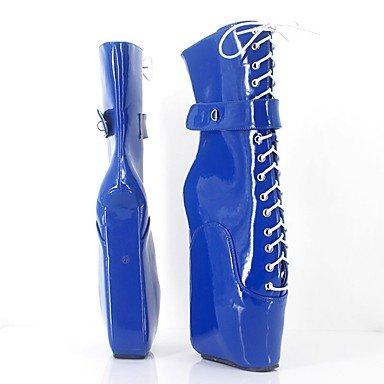 de y Botas y Fucsia Botas amp;M Noche Innovador PU Más Plataforma cms Azul 12 Moda Fiesta blue Mujer Invierno Otoño Heart PxXUCwqx