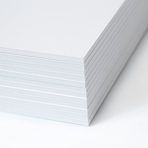 Foam Core Sheets - Foam Board 12 Pack - 11x14 Foam Core Board - 12 Foam Boards - White Project Board - Foam Poster Board - Foamcore Board 11