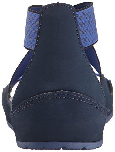 Navy Femme Bleu Blue Bijou Anna Crocs Sandales EqIwvwg