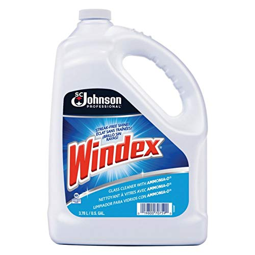 (Windex 682252EA Powerized Formula Glass & Surface Cleaner, 1gal)