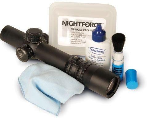 Optic Lens Kit Cleaning (Nightforce Optical Cleaning Kit with Liquid & Polishing Cloth.)