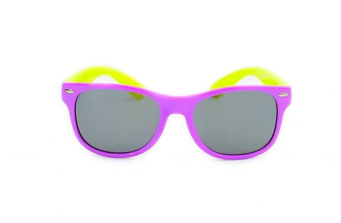 Club Talla S Modelo De Sol Carma Flexi Gafas Purple Niños Flexible LRjS4Aqc35