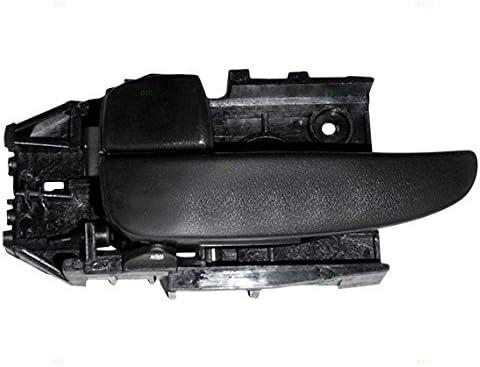 Amazon Com Inside Interior Door Handle Driver Front Or Rear Black Replacement For 01 06 Hyundai Elantra 82610 2d000ax Automotive
