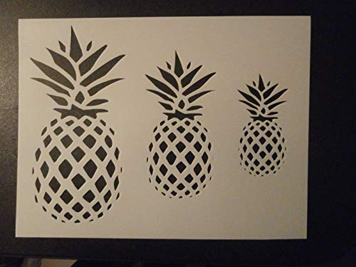 OutletBestSelling Reusable Sturdy Pineapple Primitive Pineapples Custom Stencil 11
