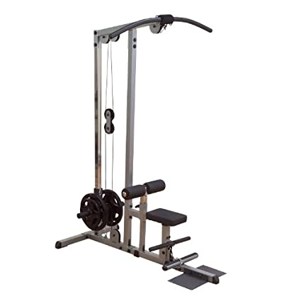 amazon com body solid pro lat machine home gyms sports outdoors