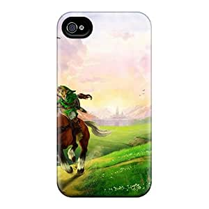 Fashionable Style Cases Covers Skin For Samsung Galaxy Note4- The Legend Of Zelda Ocarina Of Time 17654