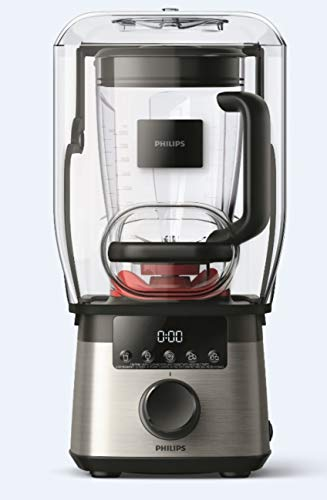 Philips HR3868/90 High Speed Power Blender with ProBlend Extreme Technology, One Size, Black and Silver