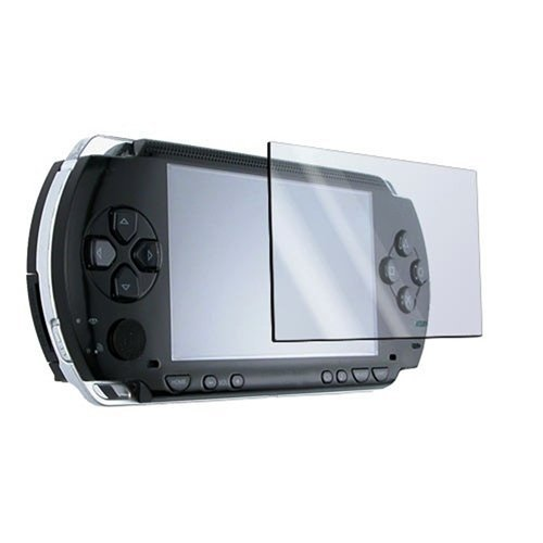eForCity 3 Screen Protector + Cloth + Compatible with SONY PSP