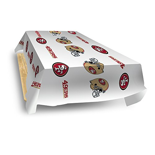 Rico Industries NFL San Francisco 49ers 8-Foot Table Cover]()
