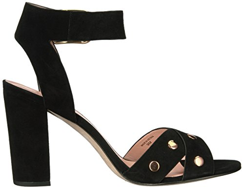 Oakwood Sandal Kate Women's Spade Black Heeled BqwHBYEp