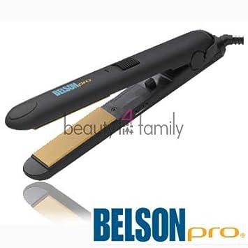 Amazoncom Belson Professional Ceramic Straightening Iron 1 14
