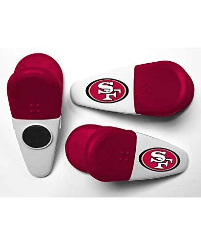 NFL Football SAN FRANCISCO 49ERS Refrigerator Magnet Set / SAN FRANCISCO 49ERS Chip Clips