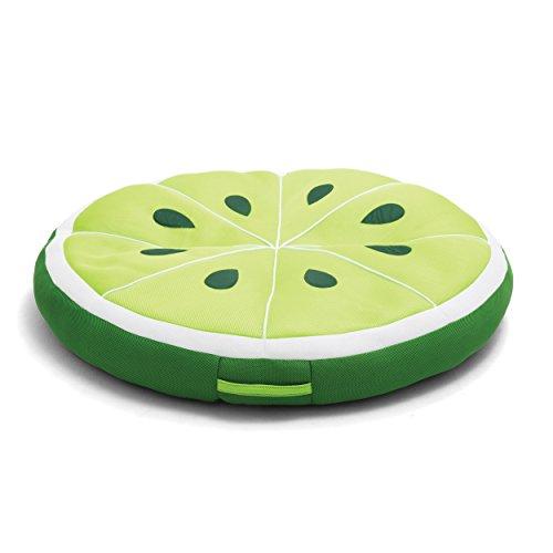 Big Joe Lime Fruit Slice Pool Float, Green