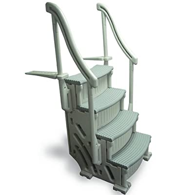 Above Ground Confer Curve Steps Various Sizes and Colors