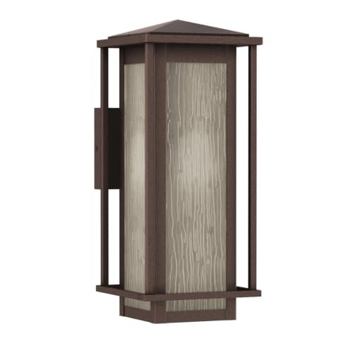 Park Harbor PHEL1701BROW Beech Lane 16″ Tall Single Light Outdoor Wall Sconce Review