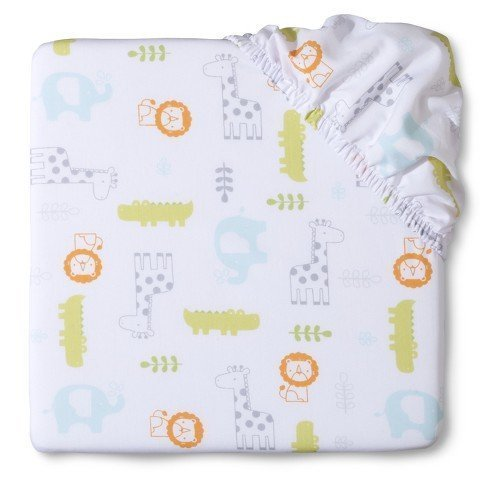 Circo-Snoozin-Safari-Fitted-Crib-Sheet