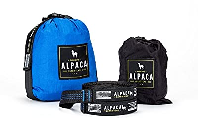 Alpaca Outfitters - Double Parachute Nylon Camping Hammock - Heavy-Duty Tree Straps and Carabiners Included