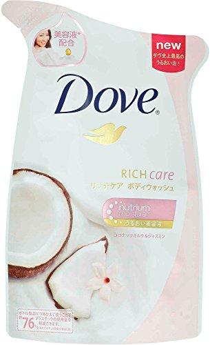 Unilever Dove 360g Refill Body Wash Ritchikea coconut milk & Jasmine [daily consumables]