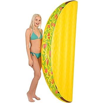 Kangaroo Pool Floats; Taco Pool Raft, 6.5 Ft.