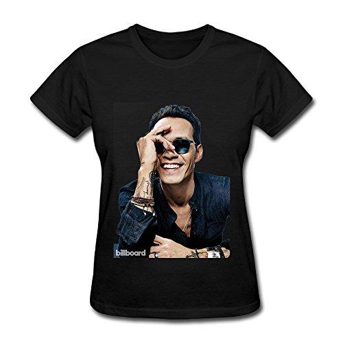 - Hot Latin Marc Anthony 2016 T Shirt For Women