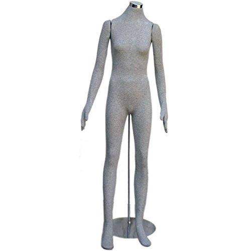 Soft Flexible Bendable Headless Female Mannequin