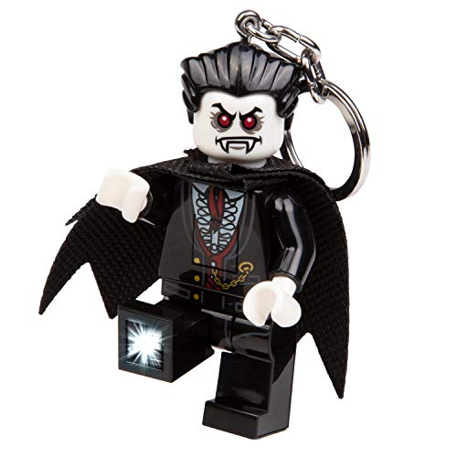 LEGO Monster Fighters Lord Vampyre Key Light - Minifigure Key Chain with LED Flashlight