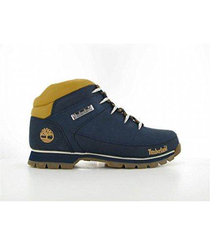 Timberland Mens Euro Sprint Hiker Marine Mid Boots Navy wIx2m