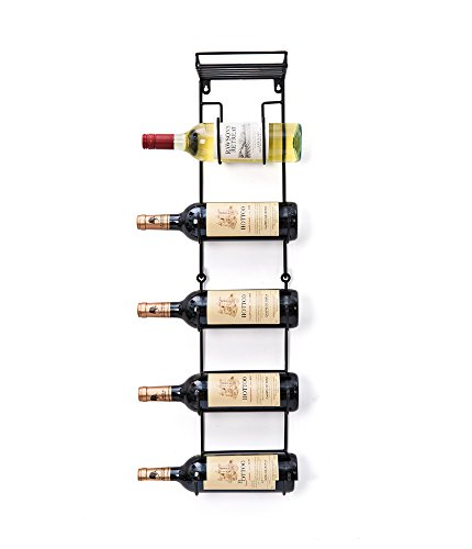 SODUKU Wall Mounted Metal Rack with Top Shelf