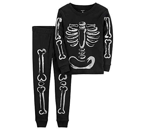 Carter's Baby Boys' Skeleton Halloween PJs