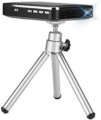 Tonysa Proyector con trípode, Mini proyector portátil de teléfono ...