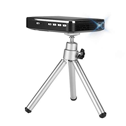 Mini-Projektor, tragbarer schwarzer 4K HD-Projektor WiFi X3-Handyprojektor HDMI-Eingang Tragbarer Mini-Projektor…