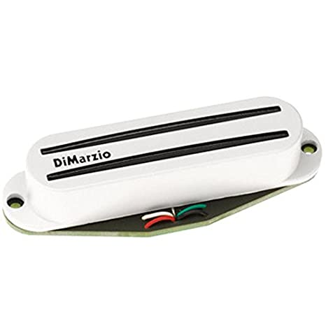 Schema Collegamento Humbucker Di Marzio : Dimarzio fast track 2 humbucker micros di chitarra bianco: amazon.it