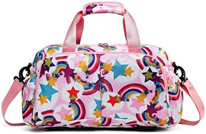 Duffle Little Overnight Weekend Rainbow pink product image