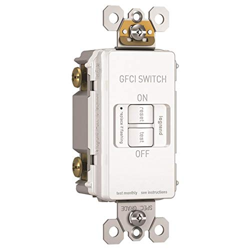 Legrand - Pass & Seymour radiant 2087WCCD4 15 Amp Dead-Front Self-Test GFCI Outlet, White by Pass & Seymour (Image #2)
