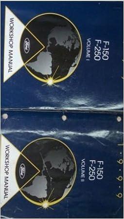 1999 Ford F-150 250 Shop Manual 2 Volume Set F150 F250 Repair Service Workshop