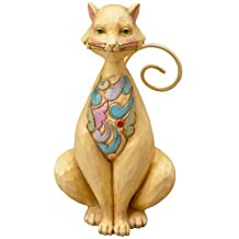 Heartwood Creek Cat Resin 4021446-Jim Shore, 9.5 cm by Heartwood Creek