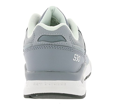 New Balance - 530 - KL530GXG - Color: Blanco-Gris - Size: 37.0